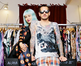 """Živa Zidar in Žiga Rangus: """"Moda za vse urbane ljudi"""""""