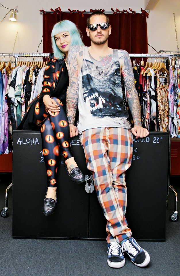 Živa Zidar in Žiga Rangus sta se spoznala v studiu leta 2010. - Foto: Aleš Pavletič