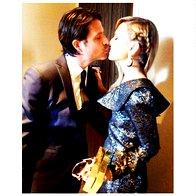 Ob lepoti stilistke slavnih Rachel Zoe se mož Rodger Berman ni mogel upreti in ji navdušeno nastavil ustnice (foto: profimedia)