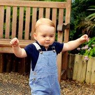 Foto: Vse najboljše, mali princ George! (foto: Profimedia)