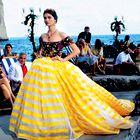 Stilistka Maja Lazar sodeluje z dvojcem Dolce&Gabbana (foto: osebni arhiv, Helena Kermelj)