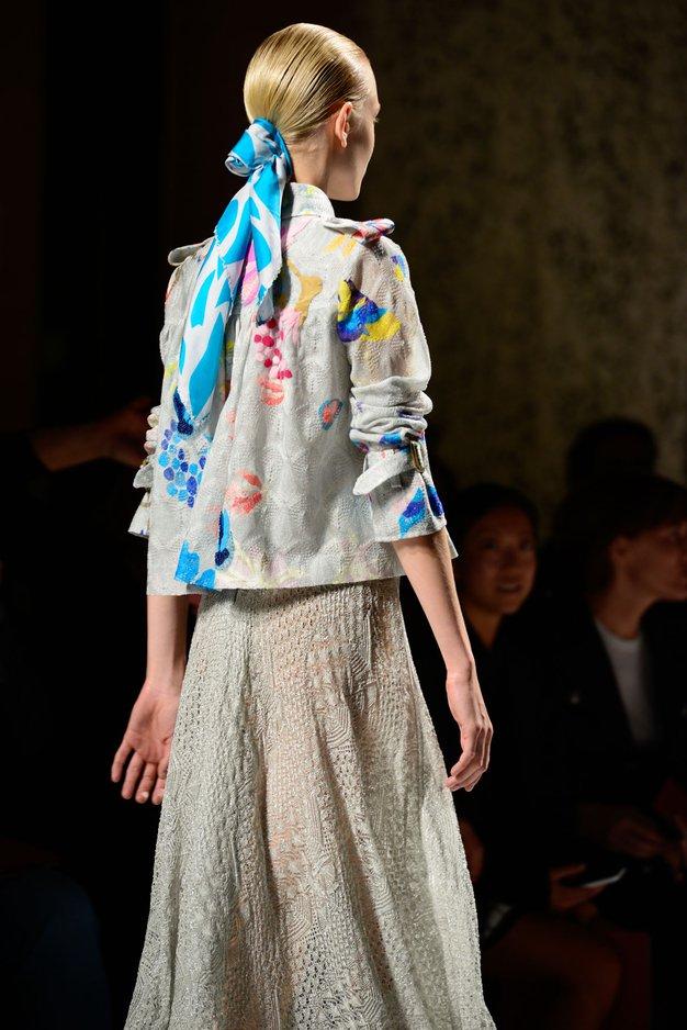 Z Moroccanoil do pričesk z Milanskega tedna mode - Foto: Carlos Manuel Gasparotto za Moroccanoil