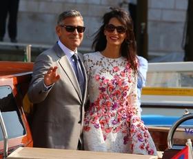 George Clooney in Amal Alamuddin: Poročena!