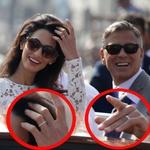 George Clooney in Amal Alamuddin: Poročena! (foto: Profimedia)