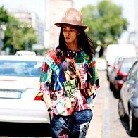 Pred modno revijo Vivienne Westwood v Londonu. (foto: Profimedia)