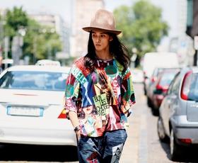 Modni utrinki z ulic septembrskih tednov mode