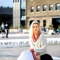 Stilistka Billie Iveson na newyorškem tednu mode. (foto: Profimedia)
