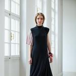 Maja Štamol na Ljubljana Fashion Weeku s kolekcijo Flower destiny (foto: Mimi Antolovic)