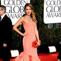 Januar 2013, Jessica Alba na podelitvi zlatih globusov (foto: Profimedia)