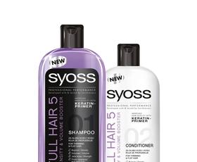 Elle podarja: šampon in regenerator za lase Syoss