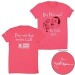 Pred kratkim je oblikovala svojo majico za novo linijo organizacije Planned Parenthood Action Fund. Linijo omejene izdaje je organizacija naročila za kampanjo Women Are Watching, ki izobražuje mlade volivce o zdravstvenih vprašanjih in pravicah žensk. (foto: profimedia)