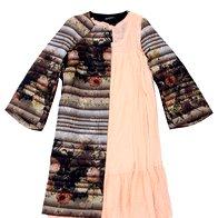 Obleka Twin-Set, 169 €, Plašč  Rinascimento, 219 € (foto: windschnurer, imaxtree, promocijsko)