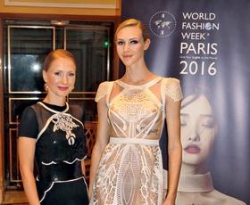Maja Ferme na Haute Couture razstavi v Parizu
