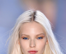 Odtenek las: vse ledeno belo