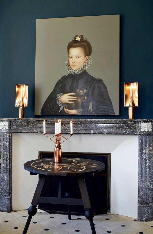 Francoski klasik z zbirko sodobne umetnosti - Foto: promo
