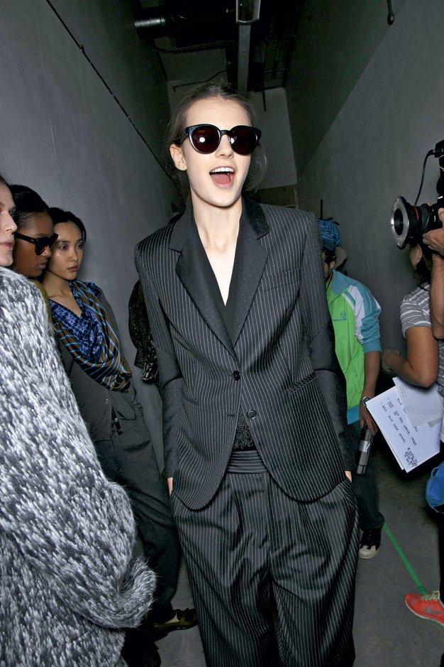 Moška moda po žensko - Foto: Imaxtree