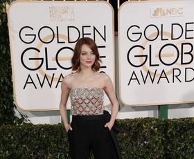 Foto: Kaj so zvezdnice nosile na Zlatih globusih?