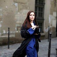 Ulični šik s pariškega tedna visoke mode (foto: Profimedia)
