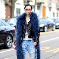 Foto: Ulična moda izpred šovov milanskega Fashion Weeka (foto: profimedia)