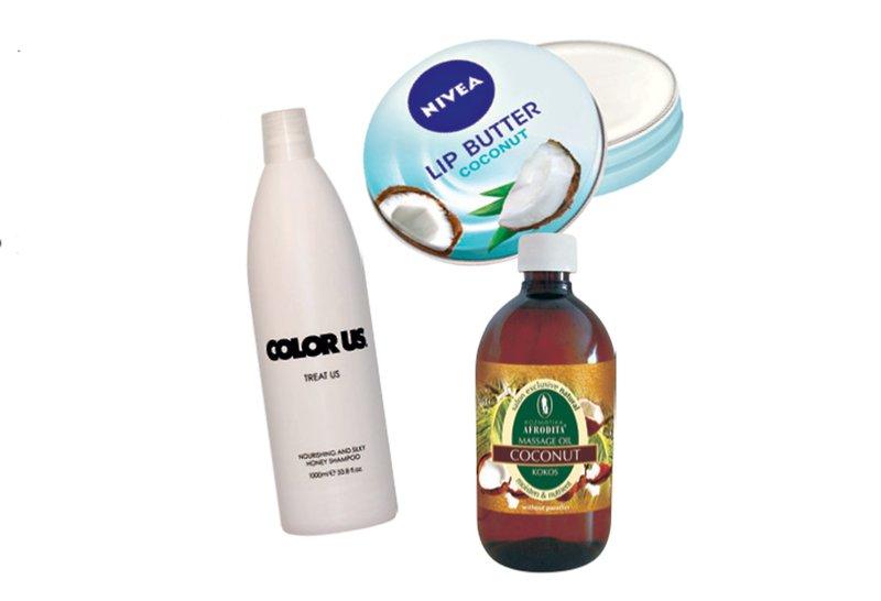 kokos, kozmetika