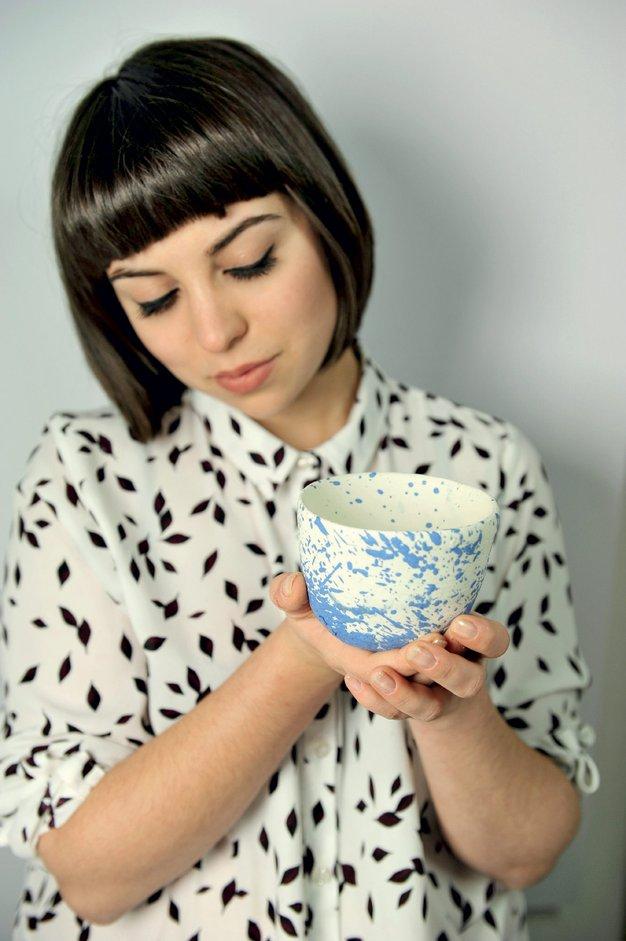 Hana Karim - oblikovalka keramike z dušo - Foto: osebni arhiv