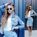 Obožujemo trend: Džins na džins (foto: profimedia)
