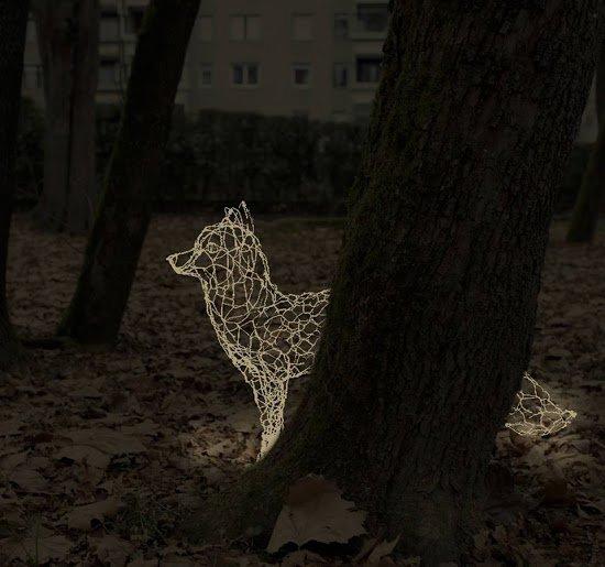 32. čajanka o sodobni umetnosti: Svetlobna umetnost - Foto: Marko Kovacic, Katja Paternoster