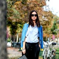 Kako nositi hlače iz umetnega usnja? (foto: Helena Kermelj, Imaxtree, promo)