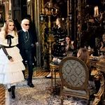 V salonu avstrijskega dvorca je Chanel prikazal predkolekcijo za jesen 2015 (foto: profimedia, promo)