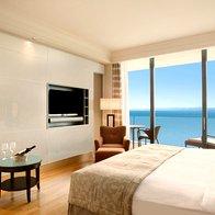 Executive Suite pogled na morje - notranjost (foto: Kempinski Hotel Adriatic, Alberi)