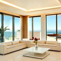 Presidential Suite -  Henry Morgan dnevna soba (foto: Kempinski Hotel Adriatic, Alberi)