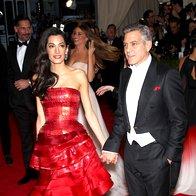 Amal Clooney - Maison Margiela in George Clooney  (foto: profimedia)