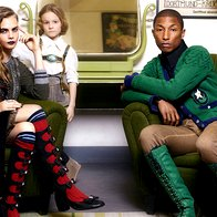Cara in Pharrell znova skupaj za Chanel (foto: profimedia)