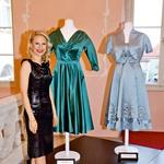 Maja Ferme je večkrat nagrajena slovenska modna oblikovalka, ki je za svoja dela prejela številna priznanja. (foto: Mediaspeed, osebni arhiv)