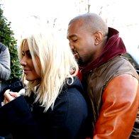 Kim Kardashian in Kanye West pričakujeta drugega otroka (foto: profimedia)