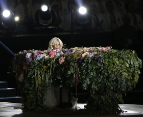 Baku 2015: Lady Gaga navdušila z Lennonovim 'Imagine'