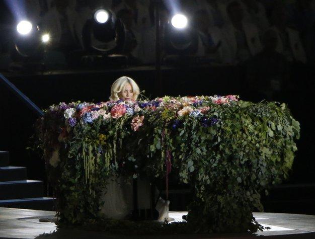 Baku 2015: Lady Gaga navdušila z Lennonovim 'Imagine' - Foto: profimedia