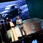 Direktor ŠKODA Slovenija Petr Podlipny in voditeljica Tajda Lekše (foto: Porsche Slovenija)