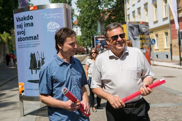 S plakati za »Kulturni utrip Ljubljane« - Foto: promocijsko gradivo