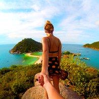 FOTO: Par, ki je s svojimi dopustniškimi fotografijami obnorel Instagram (foto: profimedia)