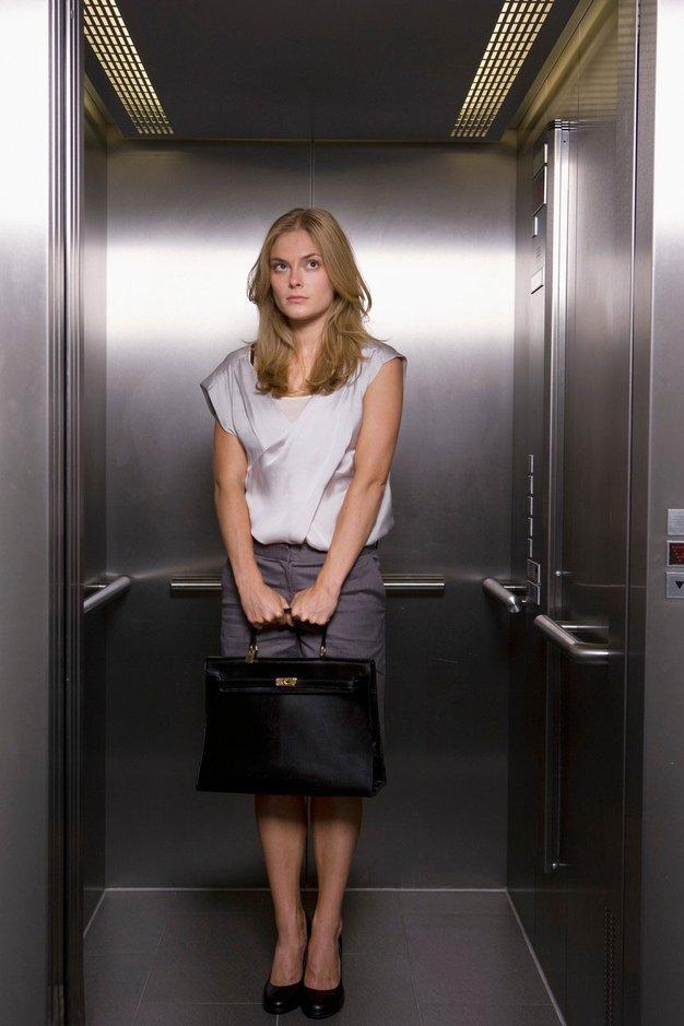 Kako se obnašati v dvigalu? - Foto: profimedia