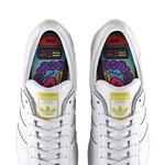 Nova kolekcija Pharrella Williamsa in adidasa: Legendarne superstarke z umetniškimi poslikavami (foto: promocijski materijal)