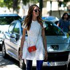 Pozabite na črno! V trendu je mala bela obleka