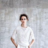 Modna zgodba v beli barvi (foto: Peter Giodani)