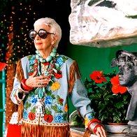 Iris Apfel - modna dama z velikim D (foto: profimedia)