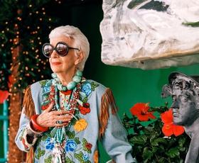 Iris Apfel - modna dama z velikim D