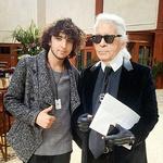 Karl Lagerfeld (foto: osebni arhiv)