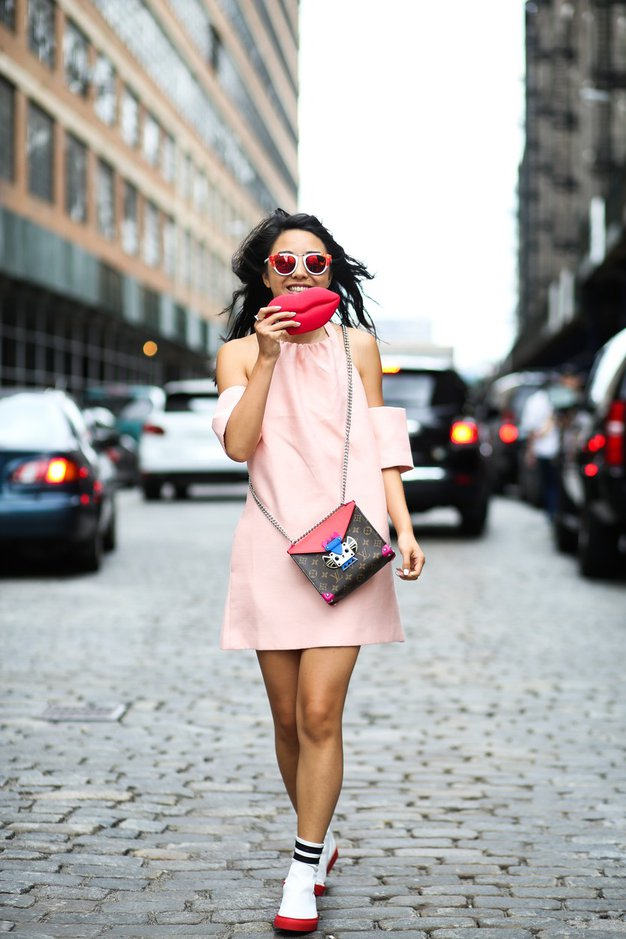 Foto: Kaj nosijo dekleta, ki obiskujejo newyorški teden mode?