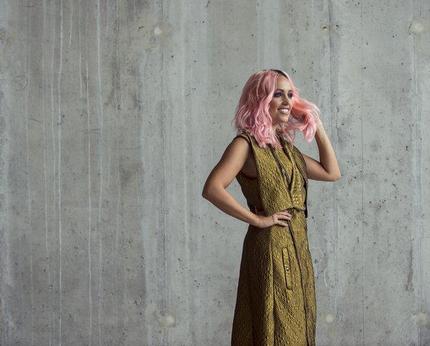 Nina Šušnjara o novi kolekciji Kardia, ki jo je predstavila v času tedna mode v New Yorku - Foto: Klemen Razinger