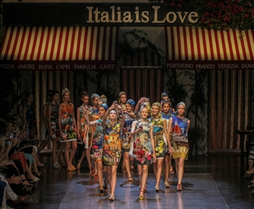 MFW pomlad-poletje 2016: Veliki finale Dolce&Gabbana